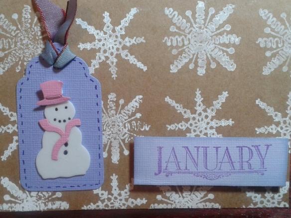 January - snowwoman